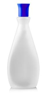Die nagellackentferner plastikflasche