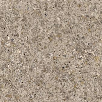Die nahtlose textur der verwitterten alten betonoberfläche ist mit moos bedeckt.