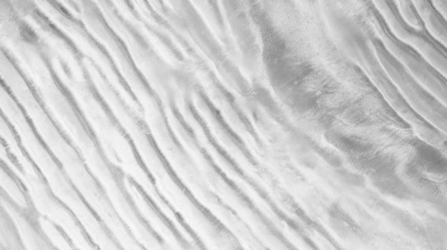 Die oberfläche des sandstrandes