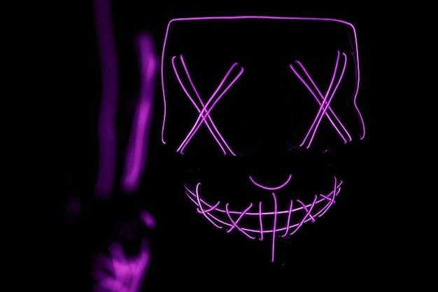 Die purge horror led maske