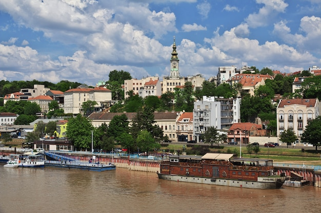 Die save in belgrad, serbien