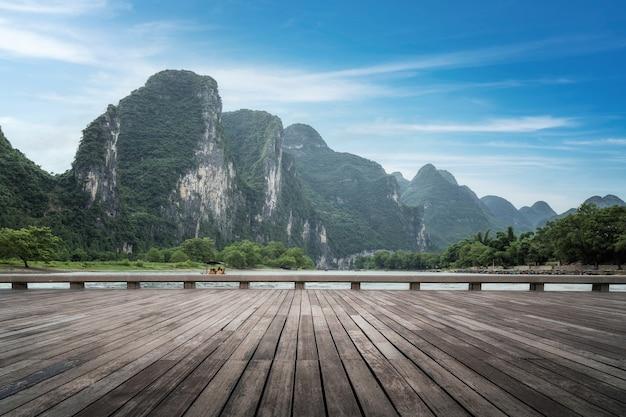 Die schöne landschaft von guilin, china
