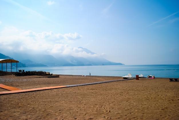 Die schönen strände von montenegro