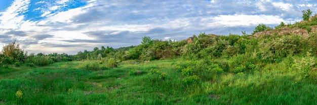 Die schönheit der natur in migiya, ukraine