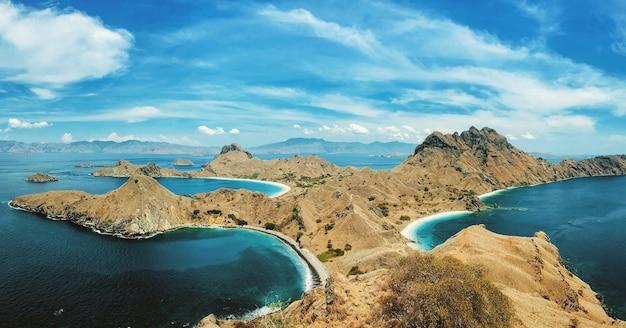 Die schönheit von padar island