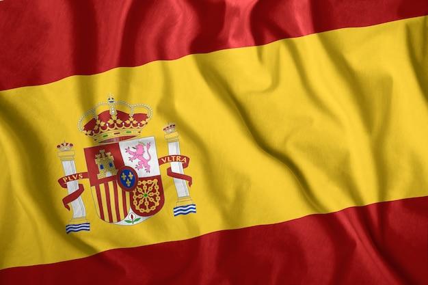 Die spanien-flagge