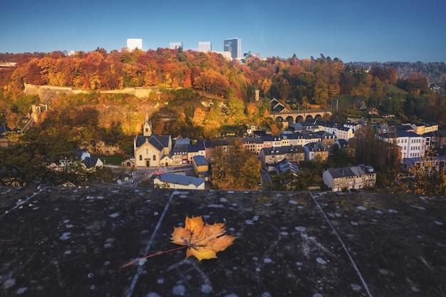 Die stadt luxemburg