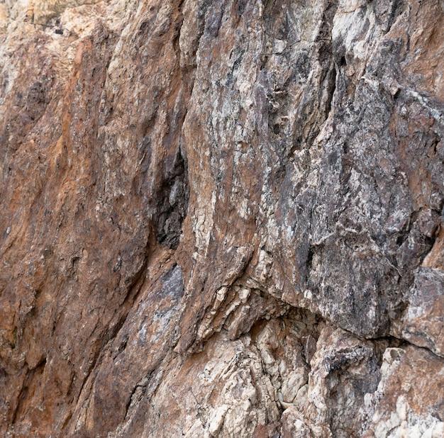 Die steinoberfläche der klippe