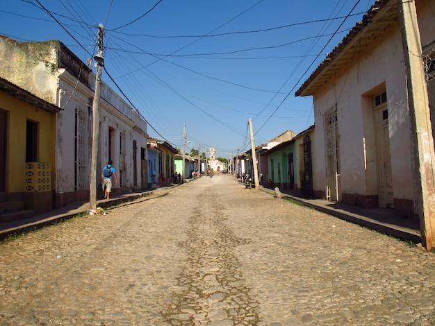 Die straße in trinidad, kuba