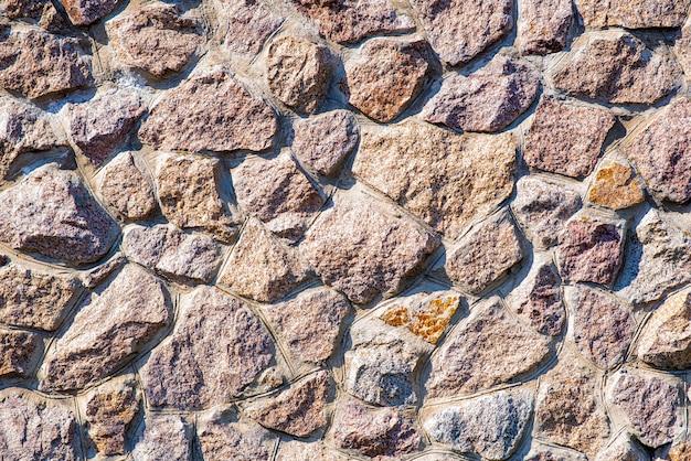 Die textur der steinmauer