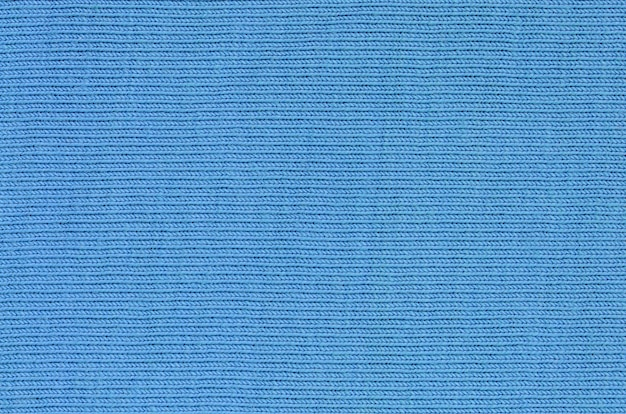 Die textur des gewebes in blauer farbe. material zur herstellung von hemden und blusen