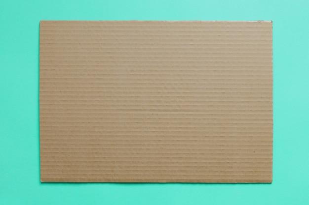 Die textur des kartons ist wie der hintergrund für das design