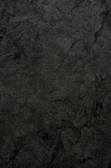 Die textur des schwarzen rohsteins. abstrakter dunkler hintergrund.