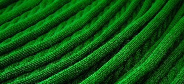 Die textur von feinem wollstoff. weiche wollfalten