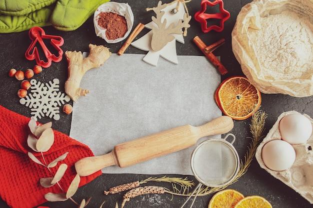 Die tradition, weihnachten und neujahr zu feiern hausbäckerei, die traditionelle weihnachtssüßigkeiten kocht