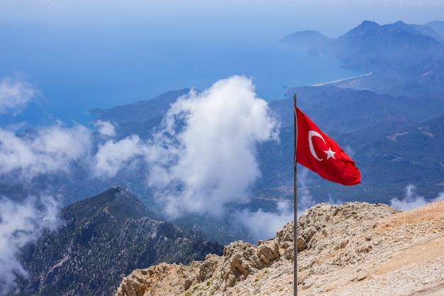 Die türkei, berg tahtali