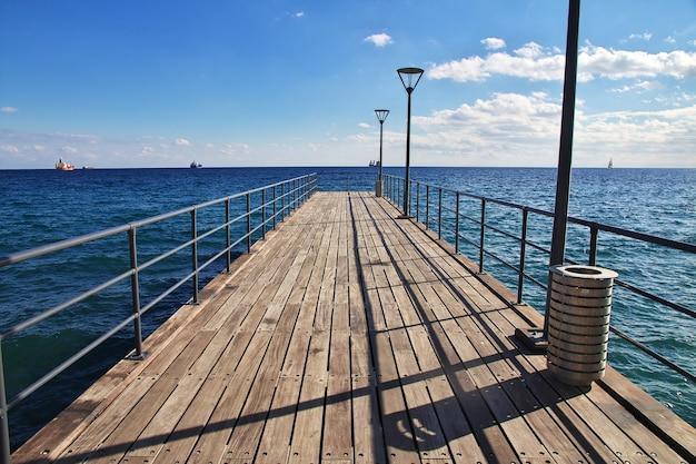 Die ufergegend in limassol, zypern