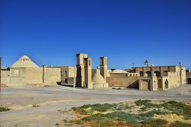 Die verlassene stadt nain im iran