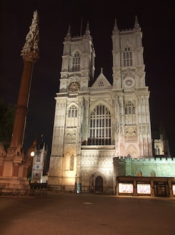 Die westminster abbey-kirche in london uk