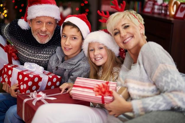 Dies ist das beste weihnachten in ihrem leben