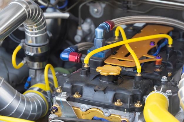 Diesel-rennwagenmotor