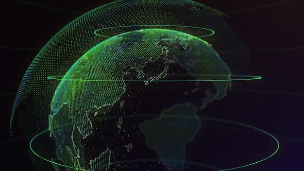 Digital earth globales netzwerk