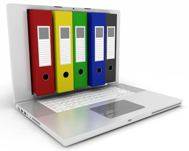 Digitale ablage und speicherung