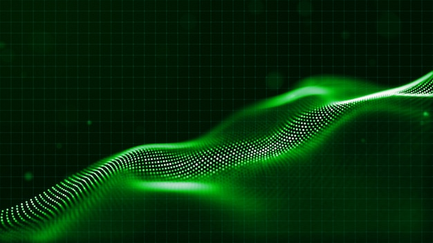 Digitaler abstrakter partikelhintergrund