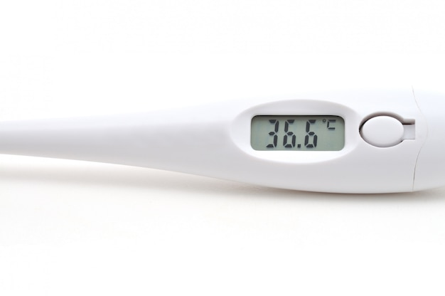 Digitales thermometer (isoliert)