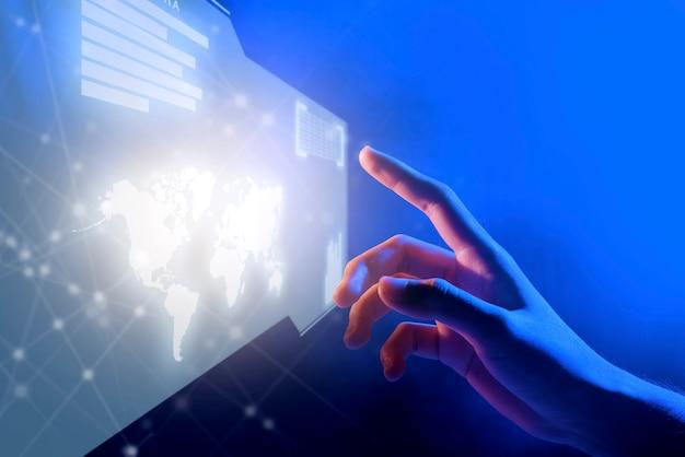 Digitaltechnik-konzept
