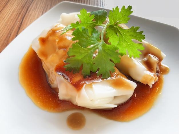 Dim sum, gedämpftes essen, chinesisches essen