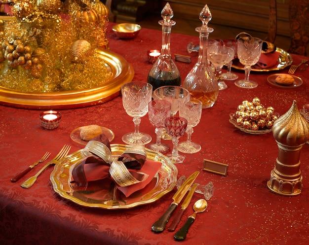 Dinnerparty luxus tisch