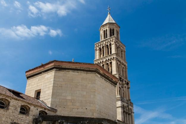 Diocletian palast in der spalte, kroatien