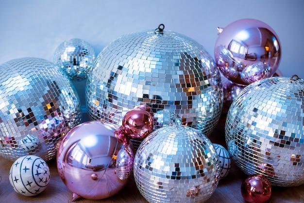 Discokugeln auf einer party