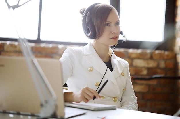 Dispatcher bei der arbeit