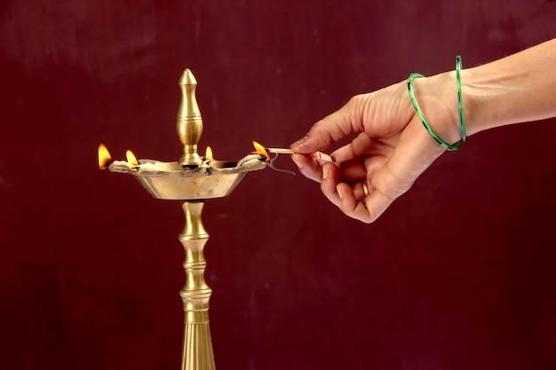 Diwali-lampe