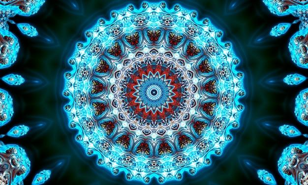 Diwali mandalas-muster. muster für meditation, yoga, chill-out, entspannung, musikvideos, trance-performance, traditionelle hinduistische und buddhistische veranstaltungen.