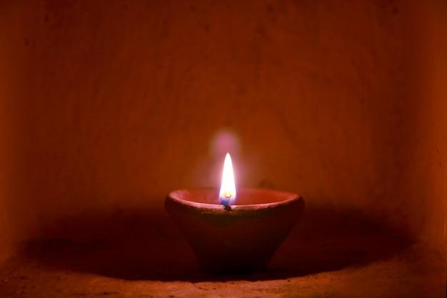 Diwalii lampe, indisches festival diwali