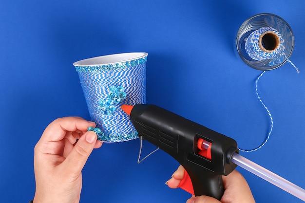 Diy stifthalter kunststoff glas