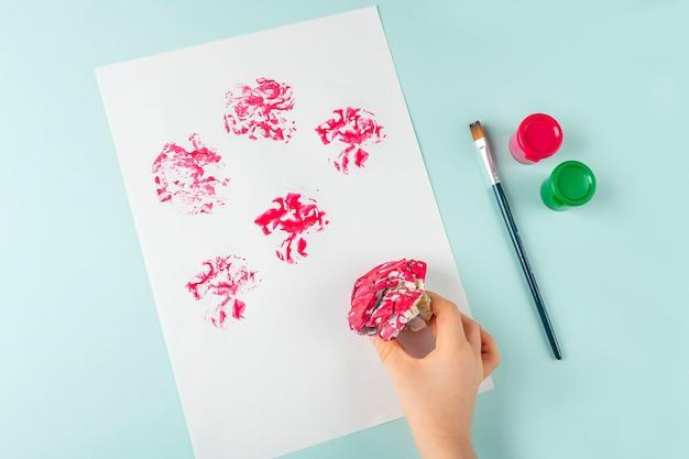 Diy und kinder kreativität
