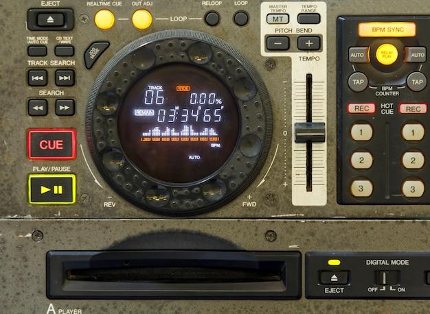 Dj-cd-player und -mixer