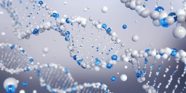 Dna-molekülspirale
