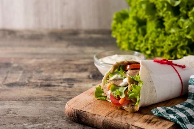 Döner oder döner-sandwich