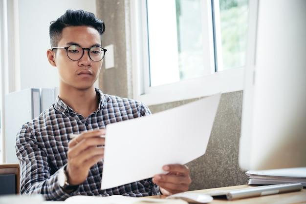Dokument zum korrekturlesen für unternehmer