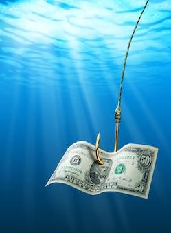 Dollar am haken