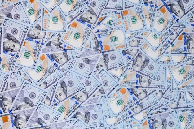 Dollar auf weißem hintergrund