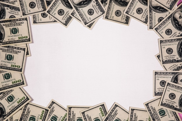 Dollar-banknoten-rahmen