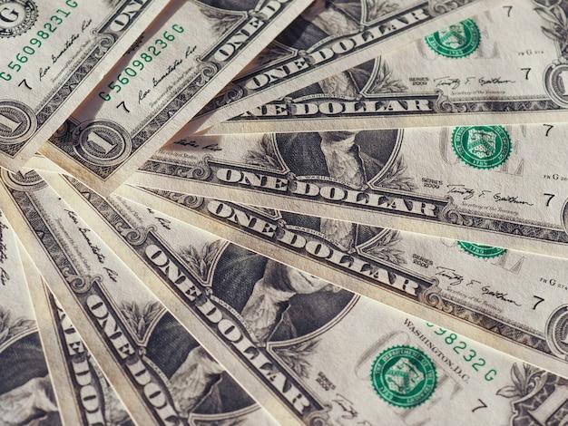 Dollar (usd)-noten, vereinigte staaten (usa)