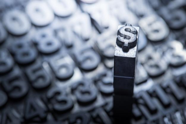 Dollar, wechselstube zeichen