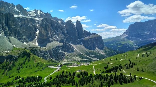 Dolomiten, südtirol. standort auronzo, italien, europa. dramatische ungewöhnliche szene. schönheitswelt.